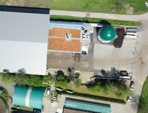 Dry fermentation for organic waste and farm manure