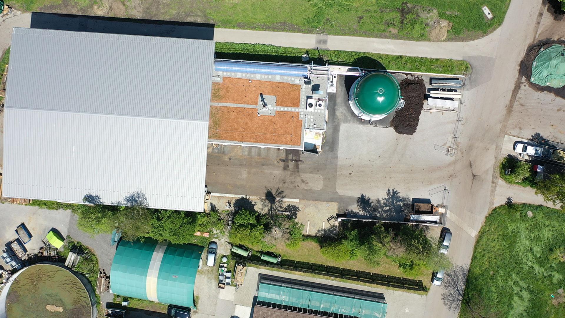 Biogasanlage Schweiz, biogas plant SSAD Switzerland