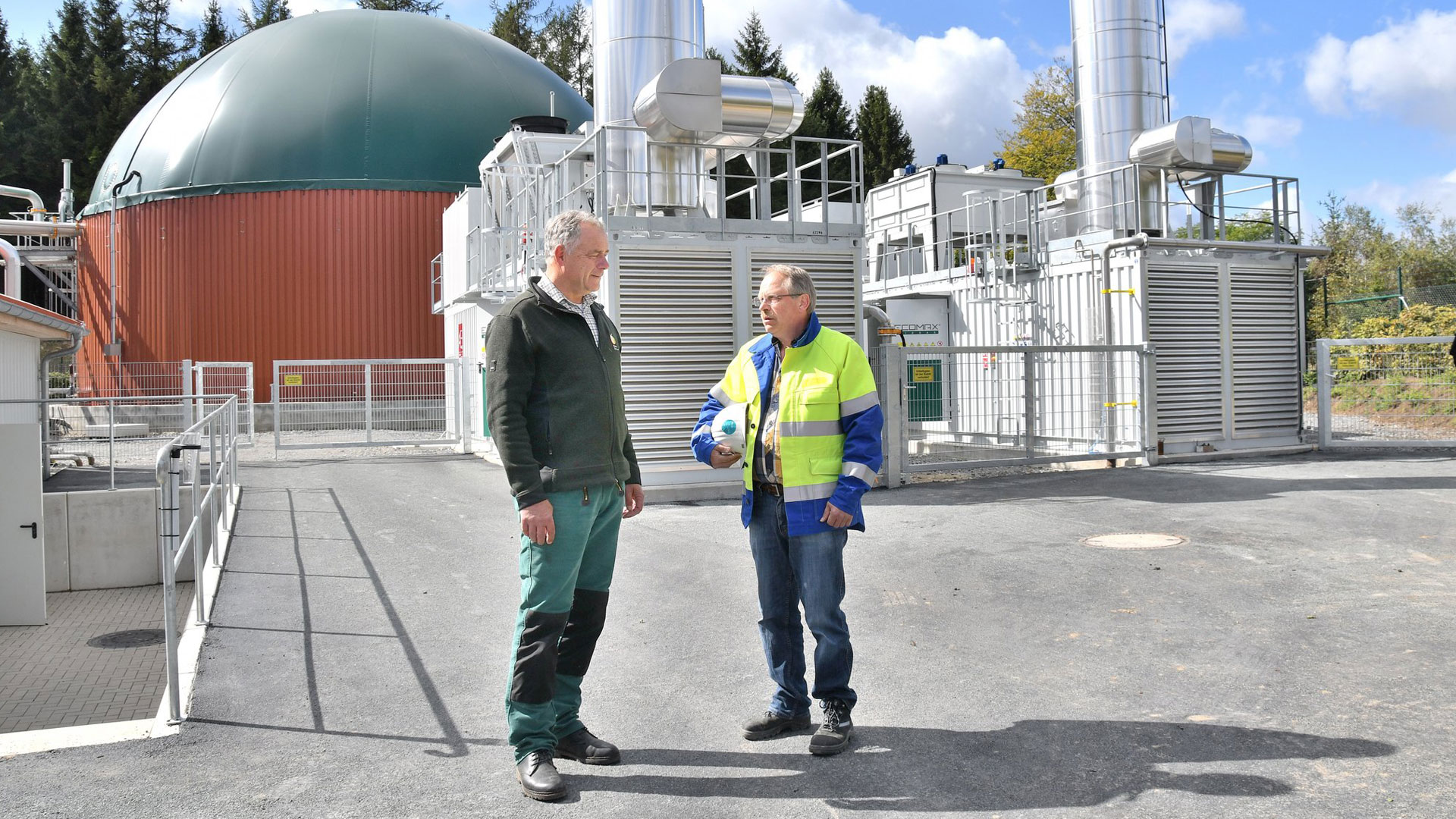 , Composting & biogas plant in Sundern Germany