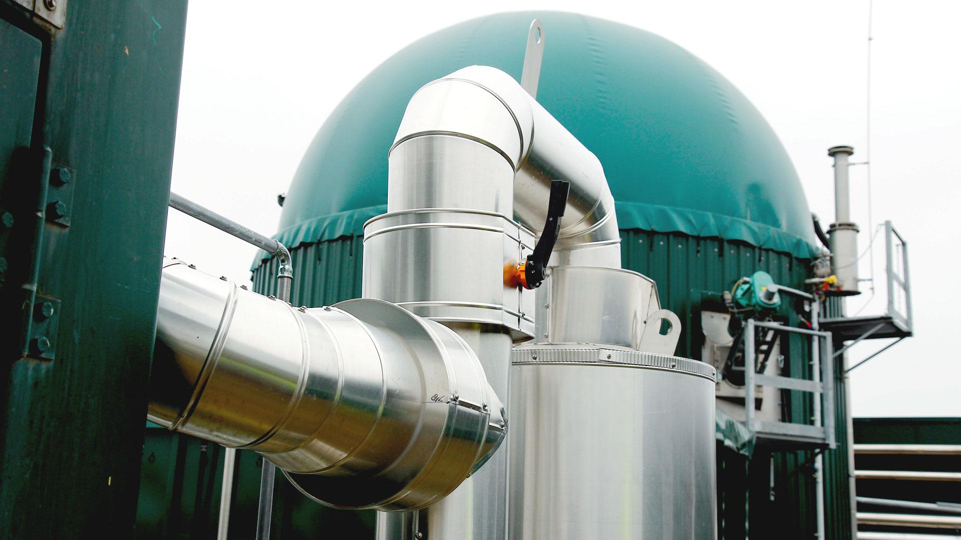 Biogaskleinanlage