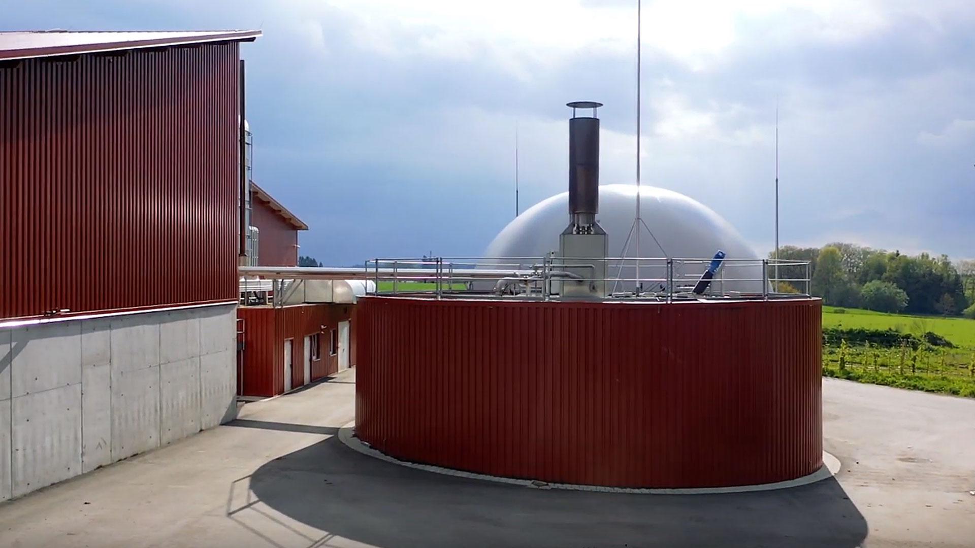 Biogasanlage Biberach