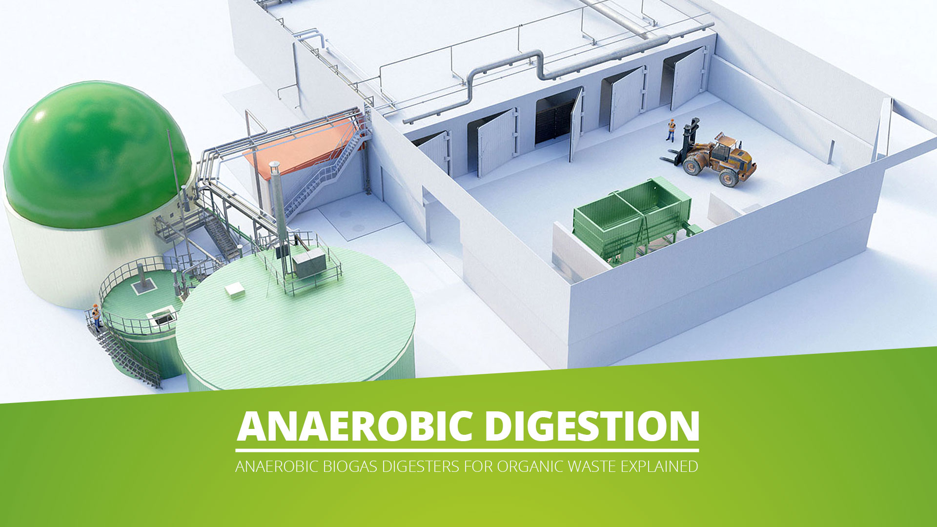 Anaerobic Digestion explained - Biogas digester